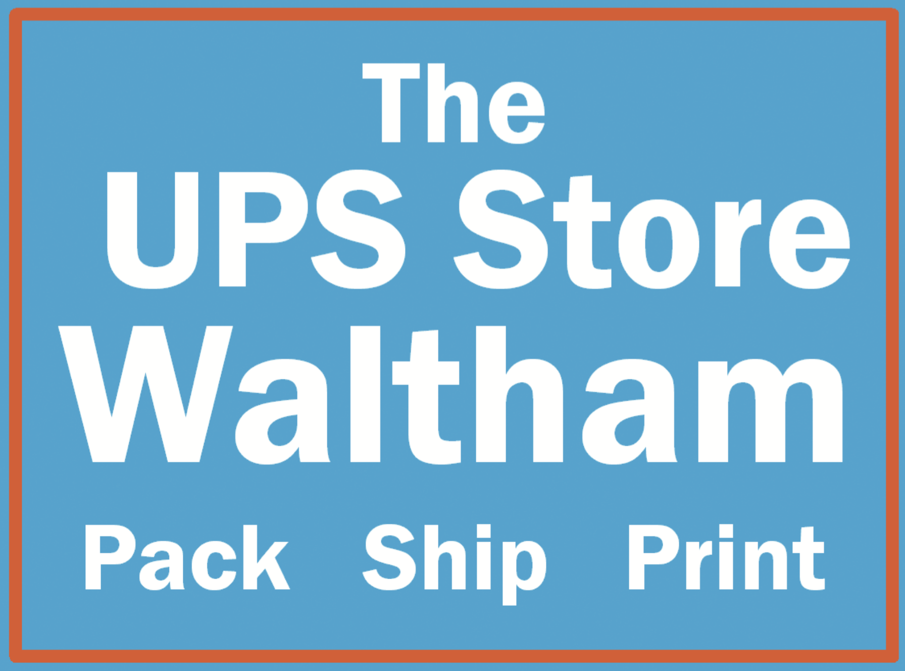 The UPS Store Waltham